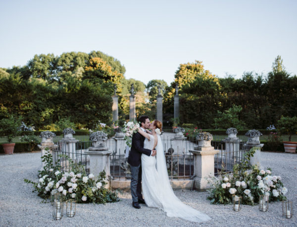 Refined wedding in Italian Villa