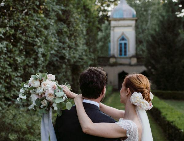 Refined wedding in Italian Villa