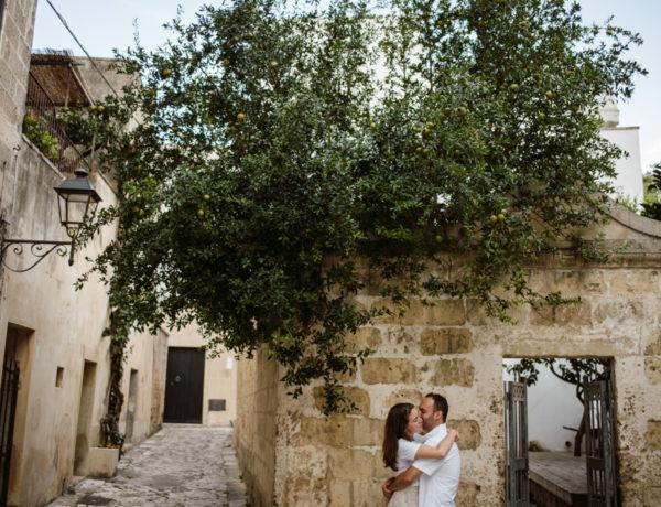 Engagement session photographer Otranto