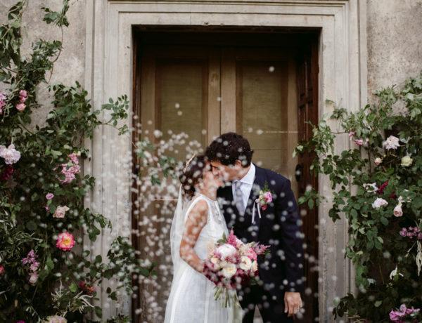 Refined wedding at Palazzo Vecchia