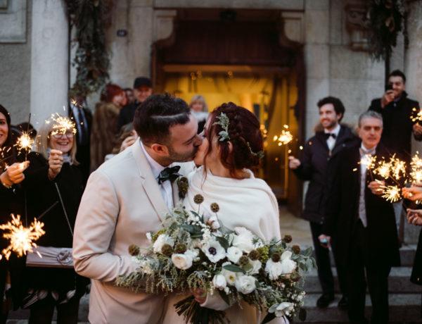 winter wedding in Switzerland